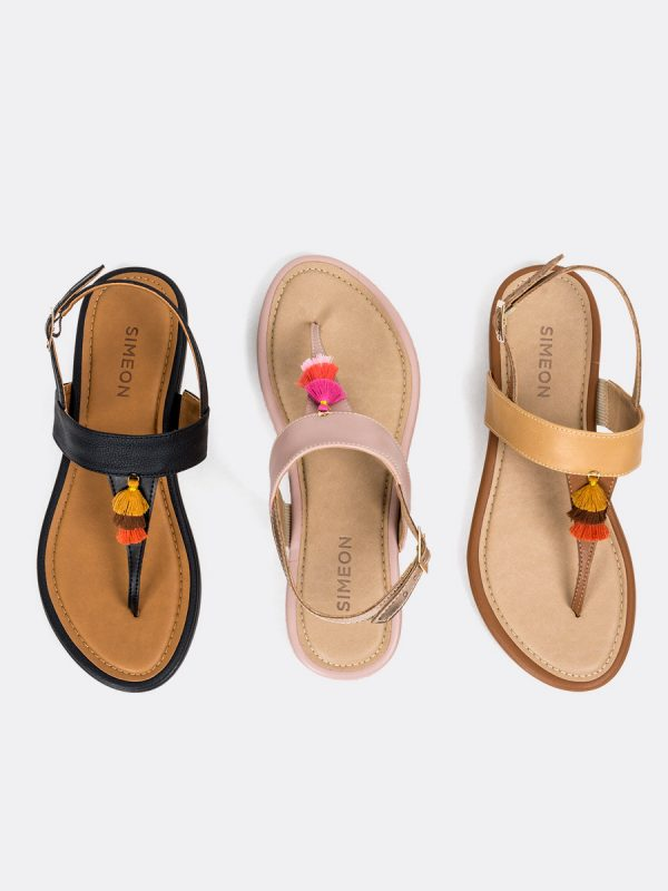 TALIS, Todos los zapatos, Sandalias, Sandalias Planas, Sintético, Vista Galeria