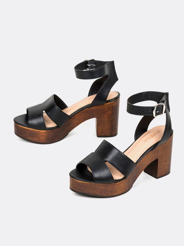 VENET2, Todos los zapatos, Plataformas, Sandalias Plataformas, Sintético, NEG, Vista Galeria