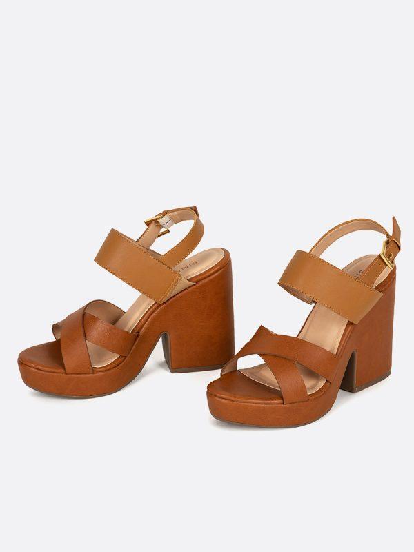 YORK, Todos los zapatos, Plataformas, Sandalias Plataformas, Sintético, MIE, Vista Galeria