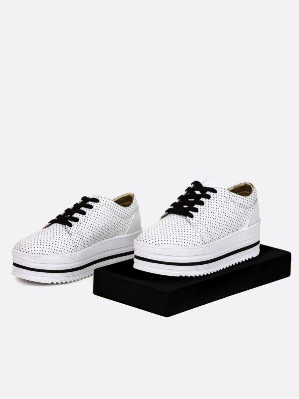 AMALIS Todos los zapatos, Zapatos de Cordón, Sintético, BLA, Vista galeria 1
