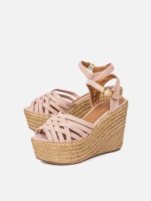 AVRIL2,, Todos los zapatos, Plataformas, Sandalias Plataformas, Sintético, ROS, Vista Galeria