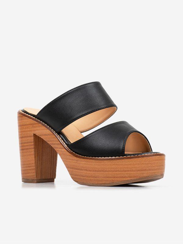 Alma, Todos los zapatos, Plataforma, Sandalia con tacón, NEG (2)