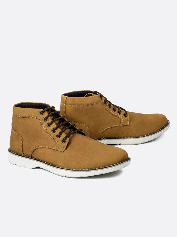 BENTLEY02,Todos los Zapatos, Zapatos Casuales, Botas Casuales, Cuero, ORO, Vista Galeria