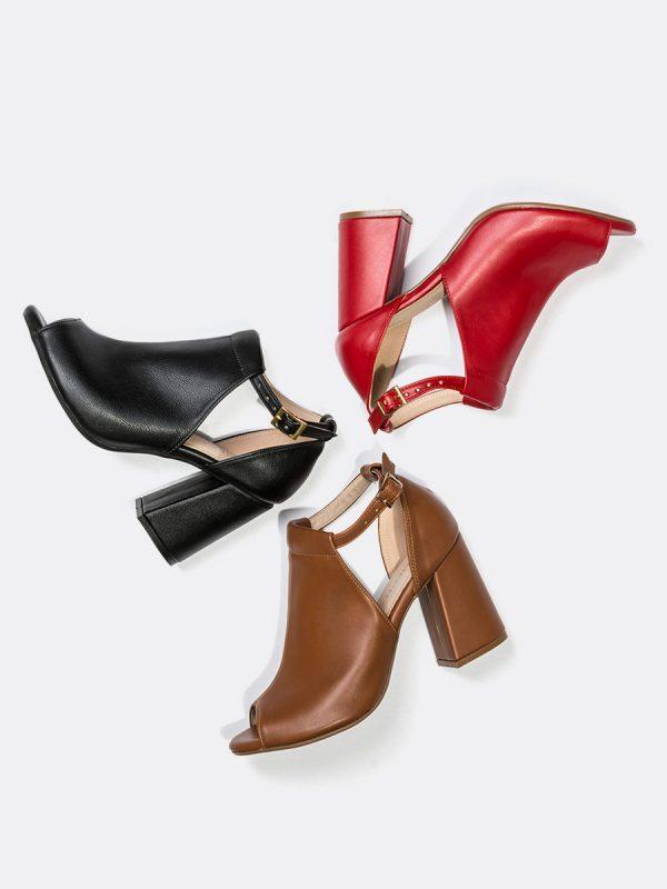 BISK, Todos los zapatos, Sandalia con Tacón,