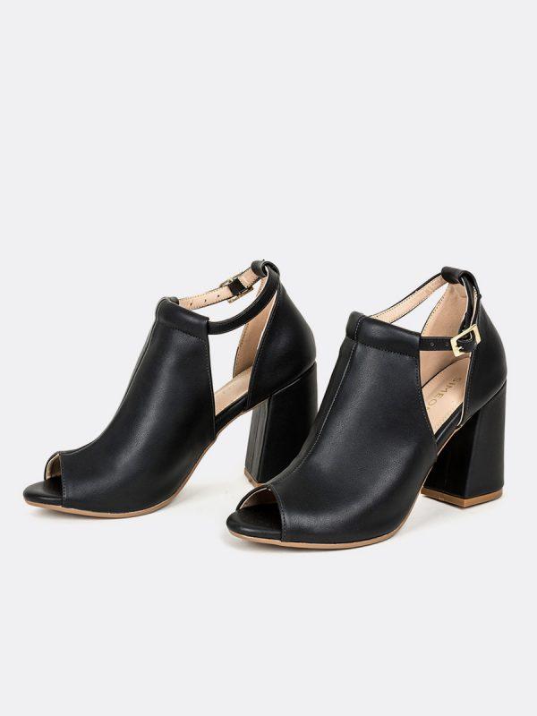 BISK, Todos los zapatos, Sandalia con Tacón, NEG, Vista Galeria