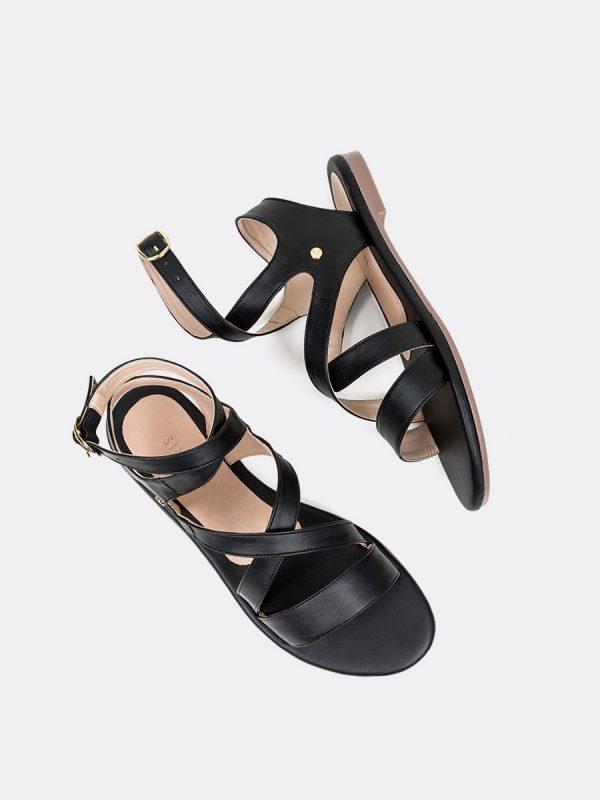 FREYA, Todos los zapatos, Sandalias, Sandalias Planas, NEG, Vista Galeria