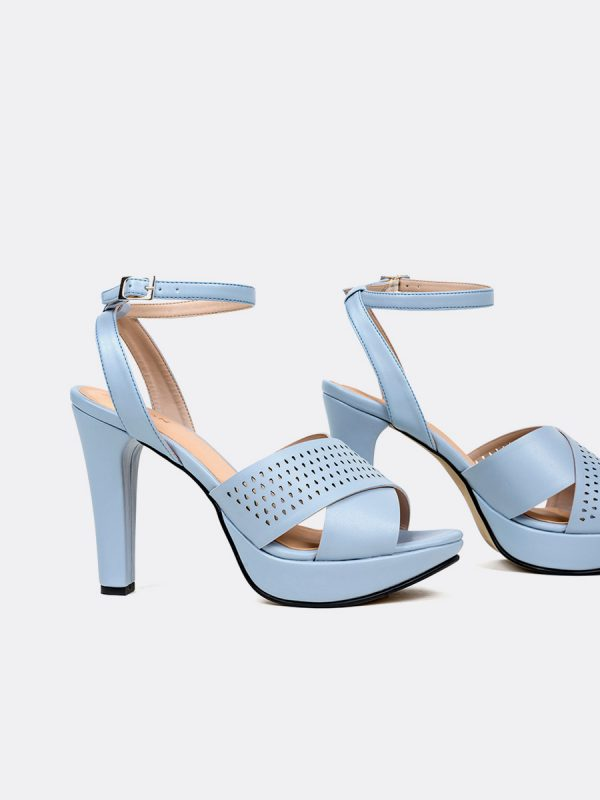 HOPPER, Todos los zapatos, Plataformas, Sandalias Plataformas, Sintético, AZU, Vista Galeria
