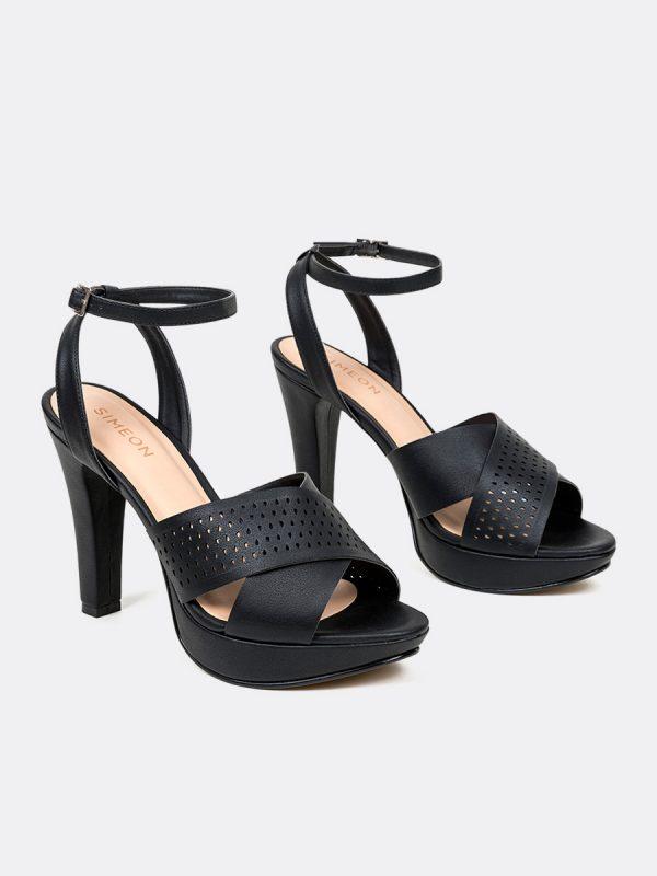 HOPPER, Todos los zapatos, Plataformas, Sandalias Plataformas, Sintético, NEG, Vista Galeria