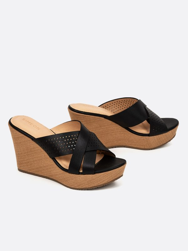 JANIC, Todos los zapatos, Sandalias Plataforma, NEG, Vista Galeria
