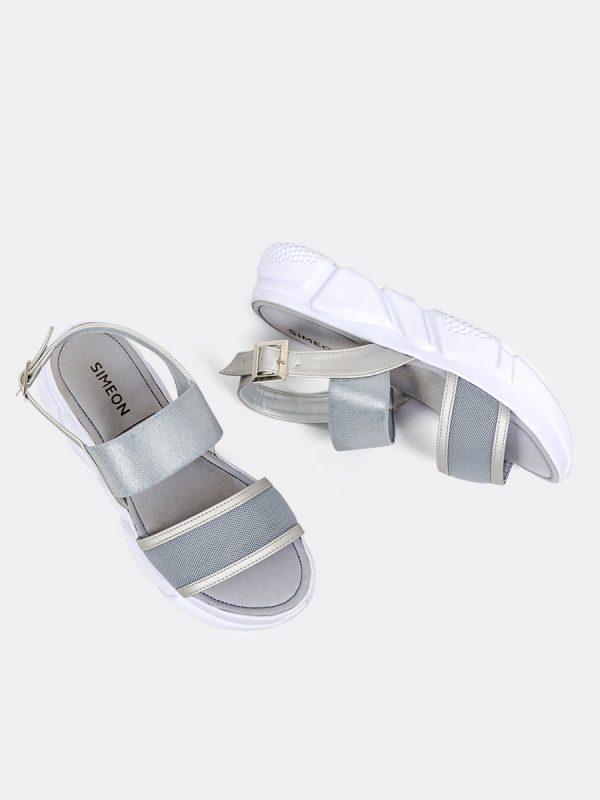 JENNER, Todos los zapatos, Sandalias Plataforma, GRI, Vista Galeria