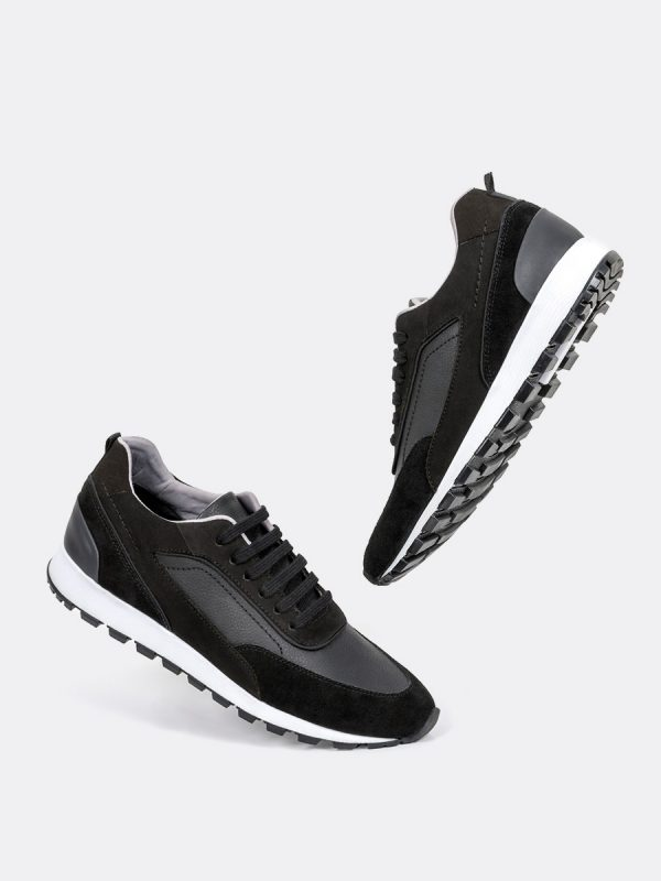 LARRY04, Todos los zapatos, Deportivos, Tenis, Cuero, NEG, Vista Galeria