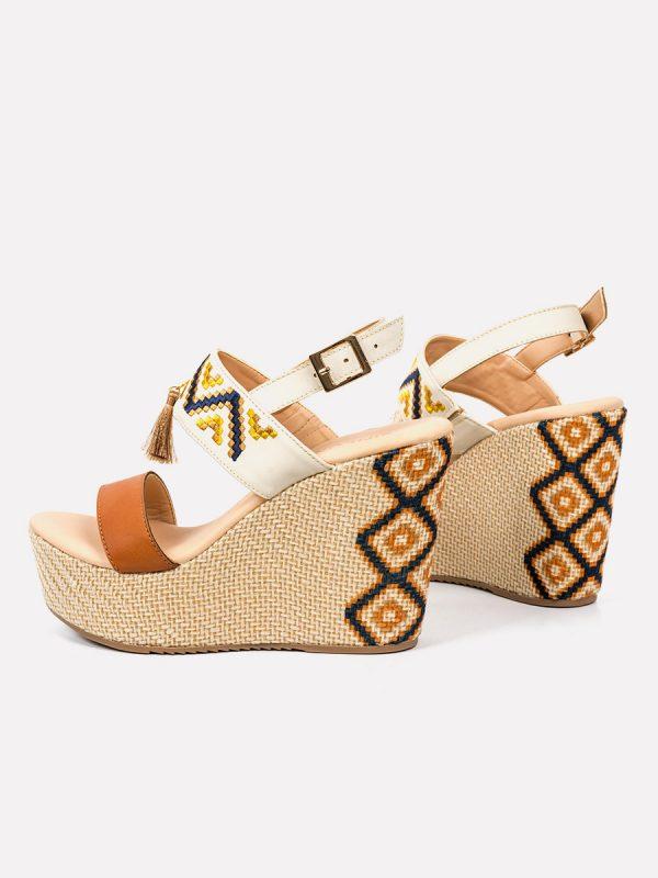 MANAH, Todos los zapatos, Plataformas, Sandalias Plataformas, Sintético, MIE, Vista Galeria