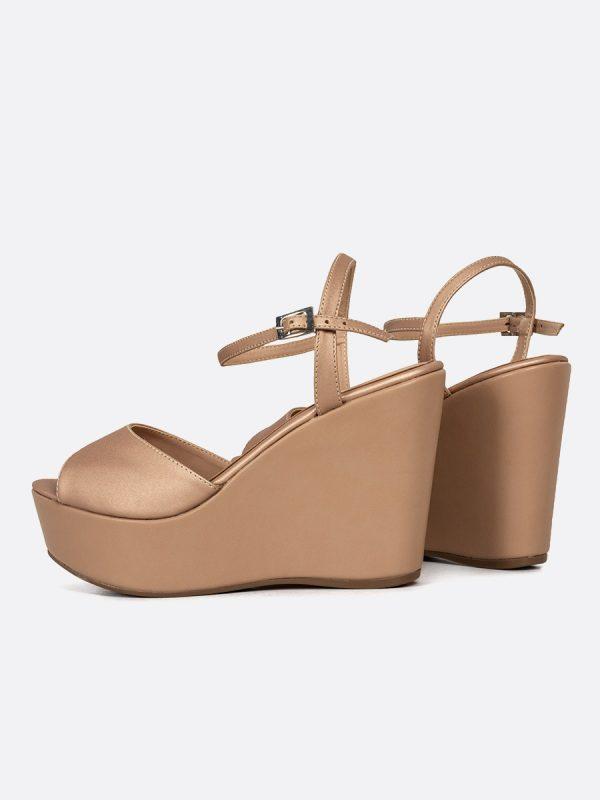POLLET, Todos los zapatos, Plataformas, Sandalias Plataformas, Sintético, NUD, Vista Galeria