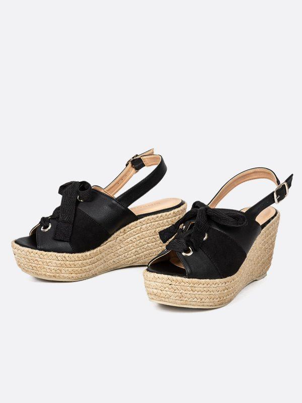 PRAY, Todos los zapatos, Plataformas, Sandalias Plataformas, Sintético, NEG, Vista Galeria