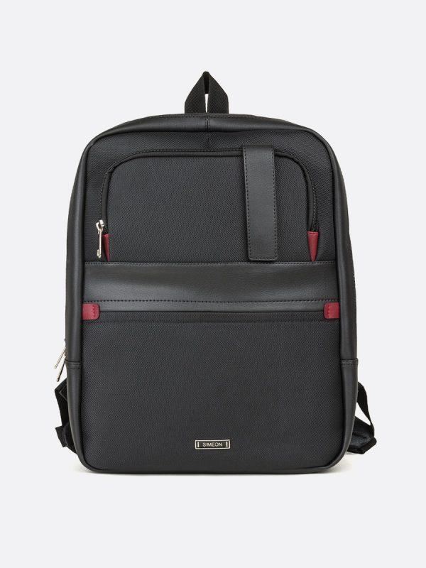 672MS Todos los Accesorios, Morrales, Backpack, Sintetico, NEG, Vista Frontal