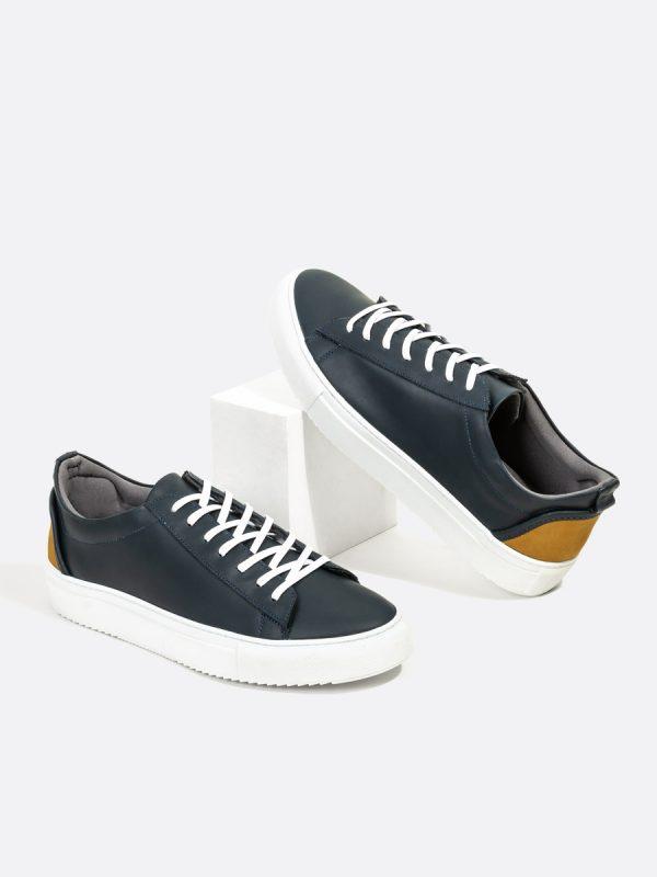 FROD01, Todos los zapatos, Deportivos, Tenis, Cuero, AZU, Vista Galeria