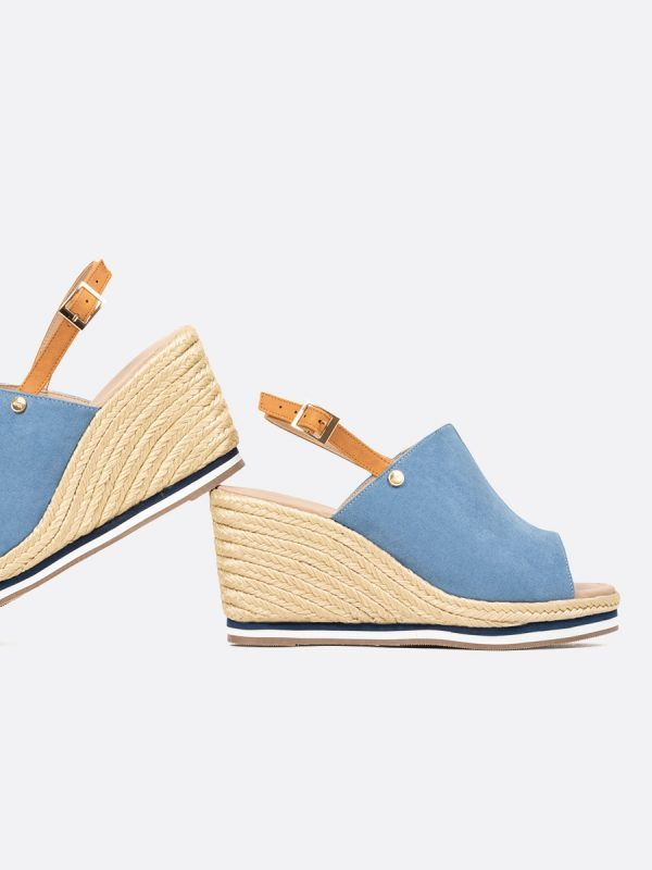 INET,, Todos los zapatos, Plataformas, Sandalias Plataformas, Sintético, AZU, Vista Galeria