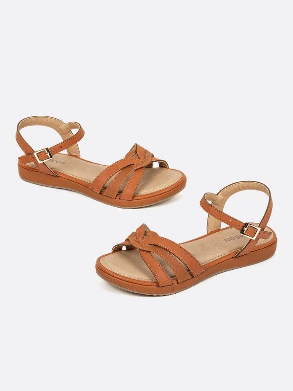 KADY3, Todos los zapatos, Sandalias, Sandalias Planas, MIE, Vista Galeria