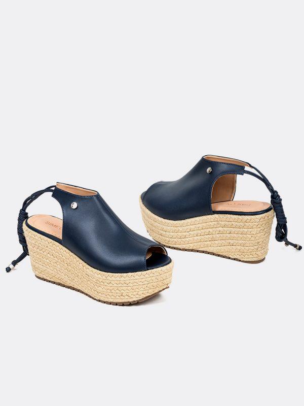 MESH, Todos los zapatos, Plataformas, Sandalia Plataformas, AZU, Vista Galeria