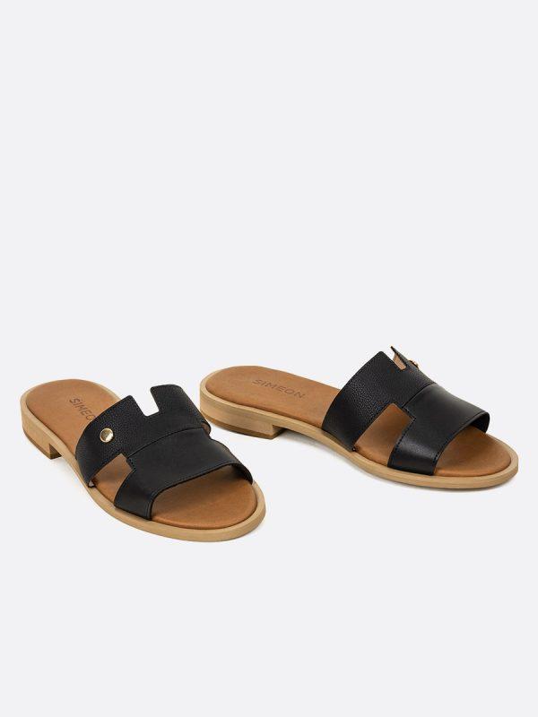 SAND2, Todos los zapatos, Sandalias, Sandalias Planas, NEG, Vista Galeria