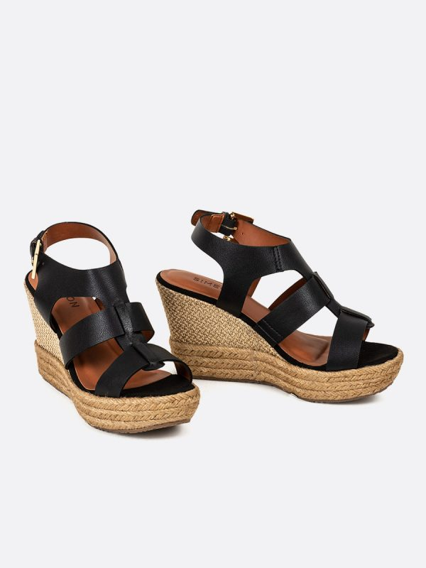 TADY, Todos los zapatos, Plataformas, Sandalias Plataformas, Sintético, NEG, Vista Galeria