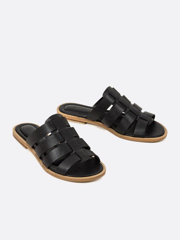 TERRY2, Todos los zapatos, Sandalias, Sandalias Planas, NEG, Vista Galeria