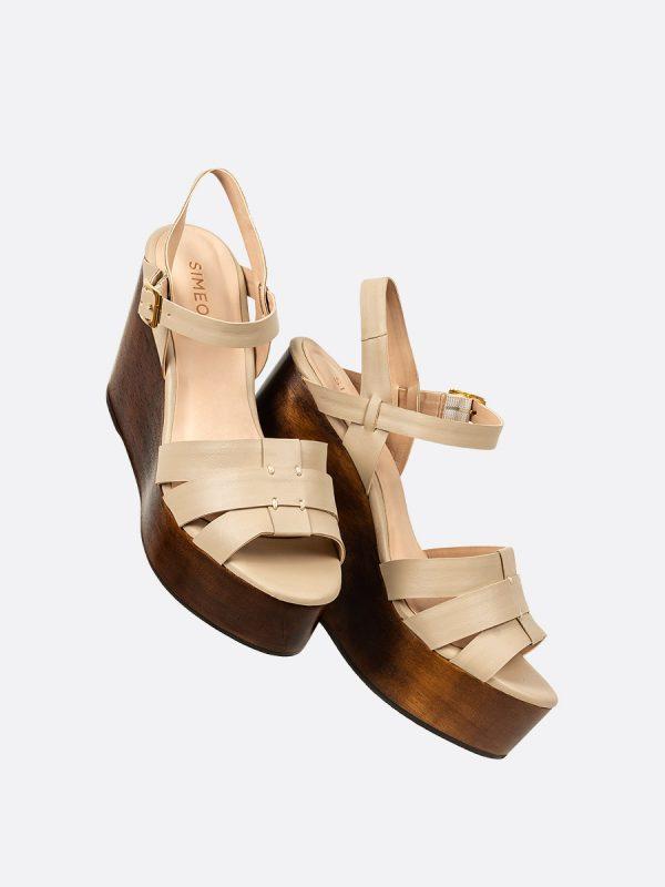 TOPACIO, Todos los zapatos, Plataformas, Sandalias Plataformas, Sintético, NUD, Vista Galeria