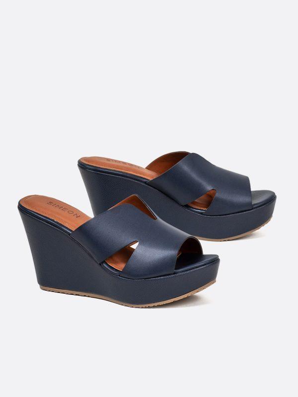 CLORY2, Todos los zapatos, Plataformas, Sandalias Plataformas, Sintético, AZU, Vista Galeria