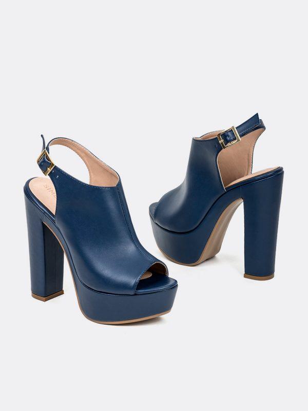 MALAK2, Todos los zapatos, Plataformas, Sandalias Plataformas, Sintético, AZU, Vista Galeria