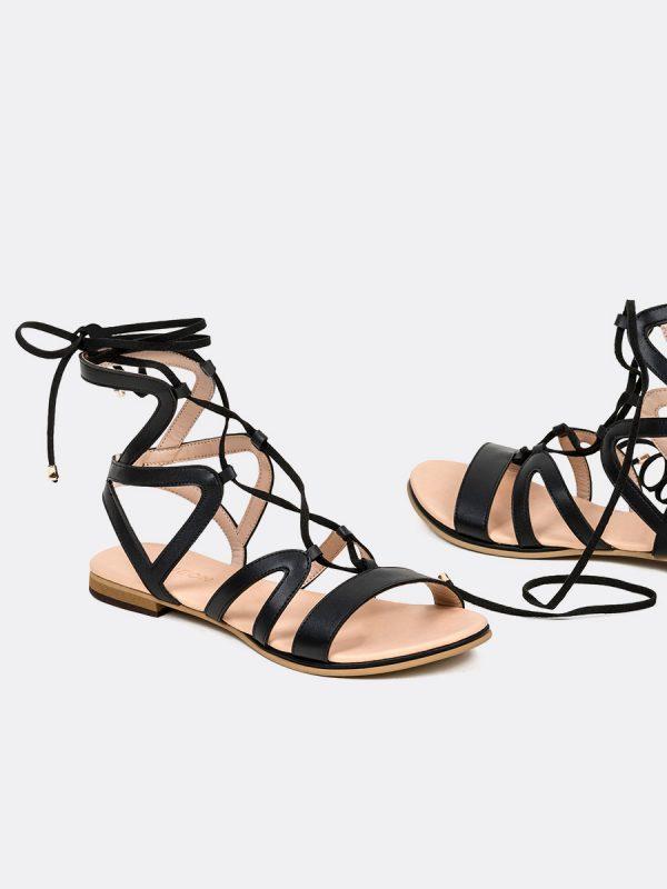 POLCA, Todos los zapatos, Sandalias, Sandalias Planas, NEG, Vista Galeria