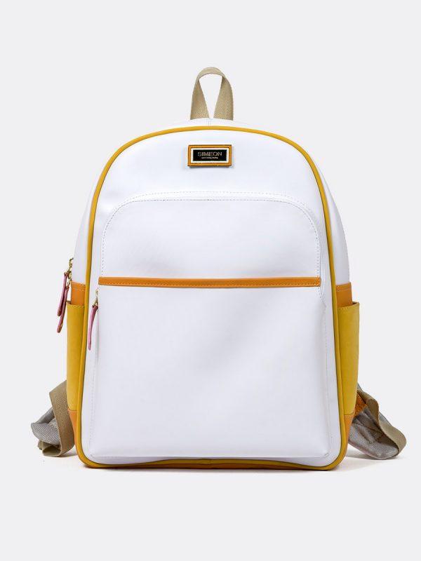 T1088BS, Todos los Accesorios, Morral, Backpack, Sintético, BLA, Vista Frontal