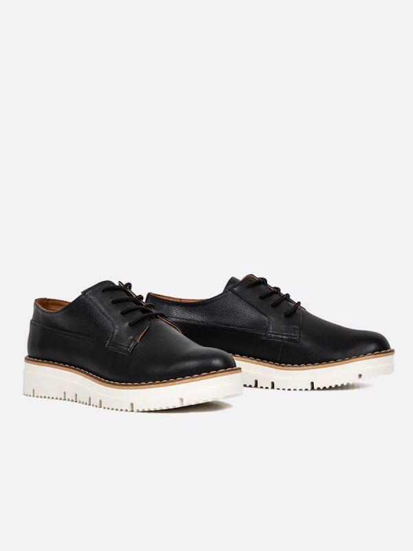 ALLI, Todos los zapatos, Zapatos de Cordón, Sintético, NEG, Vista Galeria