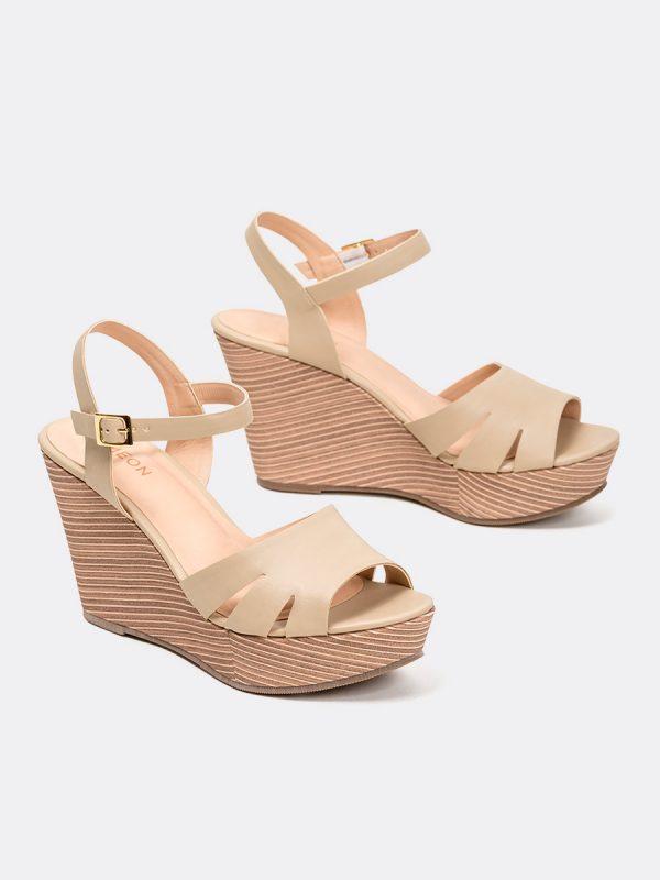 ESSI, Todos los zapatos, Plataformas, Sandalias Plataformas, Sintético, NUD, Vista Galeria