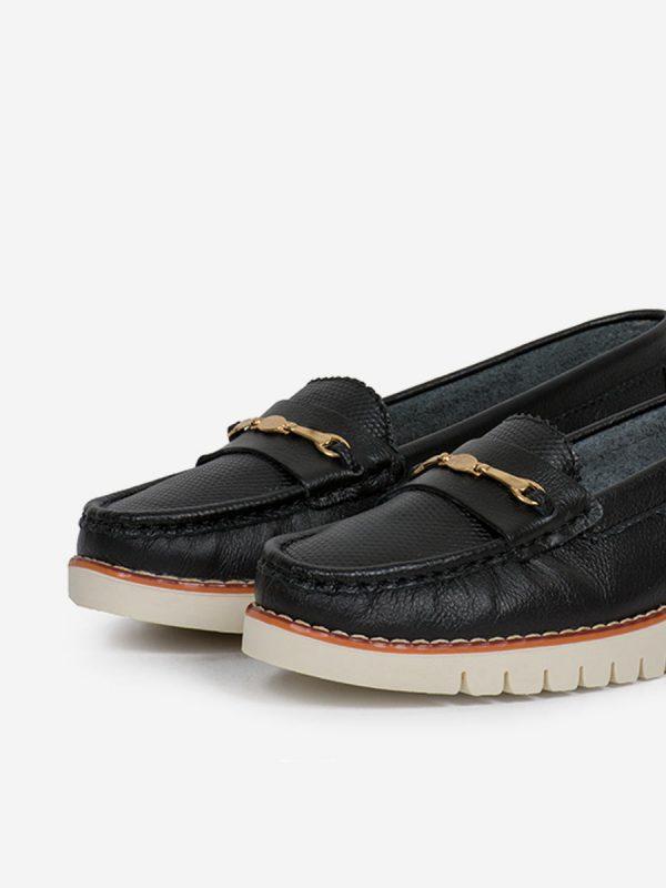 MALU2, Todos los zapatos, Mocasines, Cuero, NEG, Vista Galeria