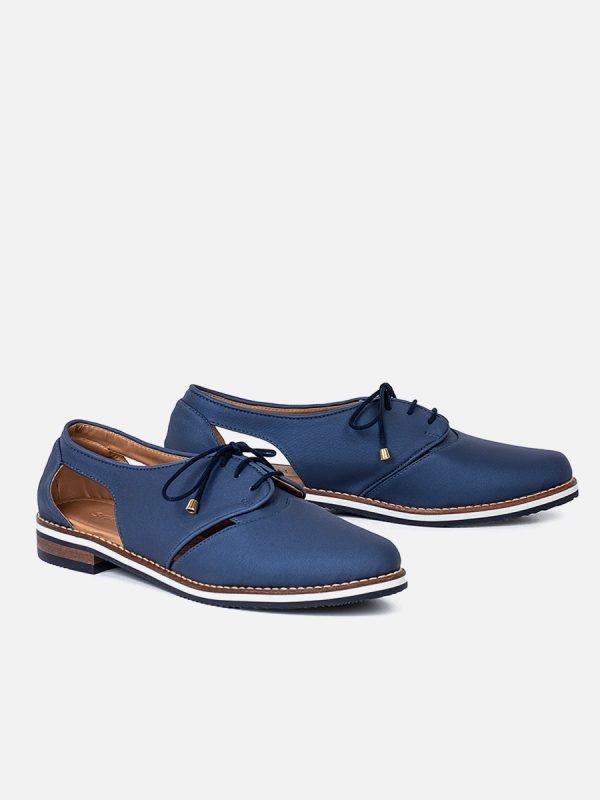 MAYARI2, Todos los zapatos, Zapatos de Cordón, Sintético, AZU, Vista Galeria
