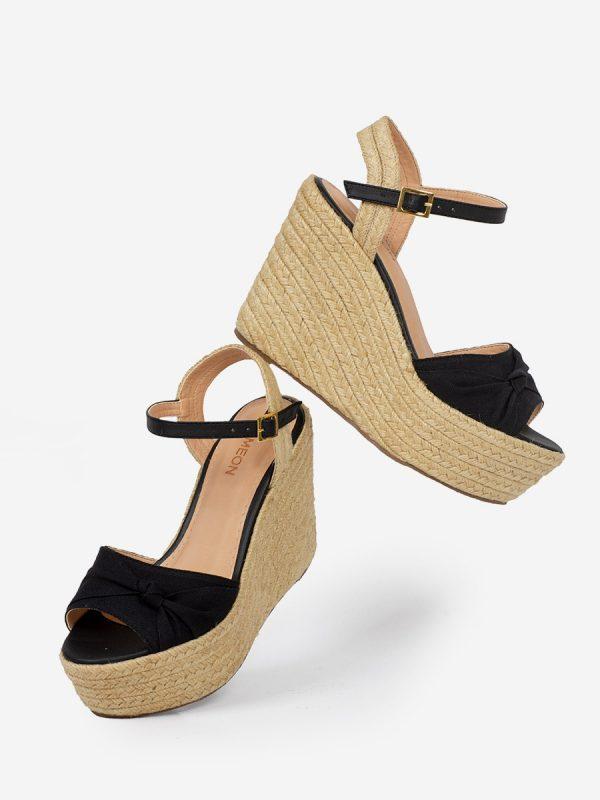 SABINE, Todos los zapatos, Plataformas, Sandalias Plataformas, Sintético, NEG, Vista Galeria