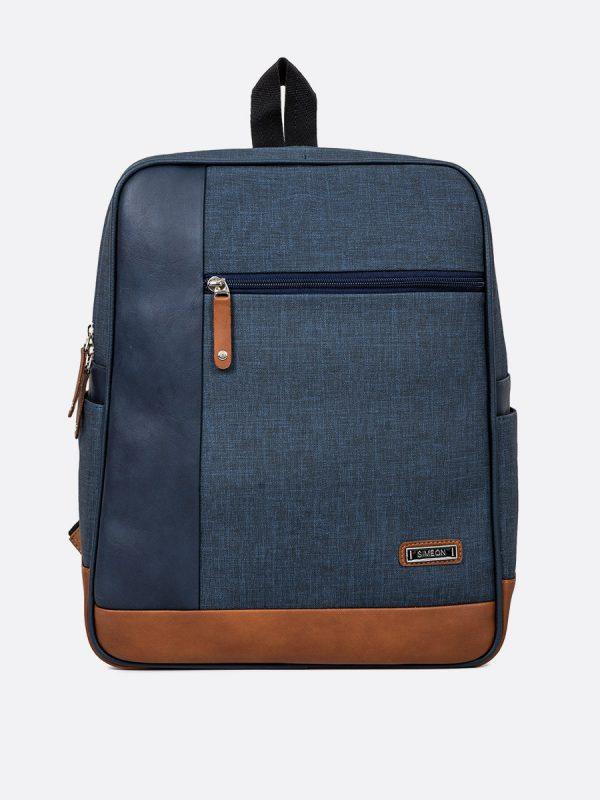 T711MS Todos los Accesorios, Morrales, Backpack, Sintetico, AZU Vista Frontal