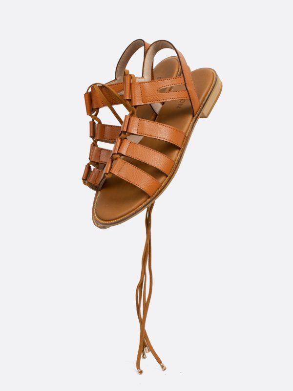 TISSE, Todos los zapatos, Sandalias Planas, MIE, Sintético, Vista Galeria