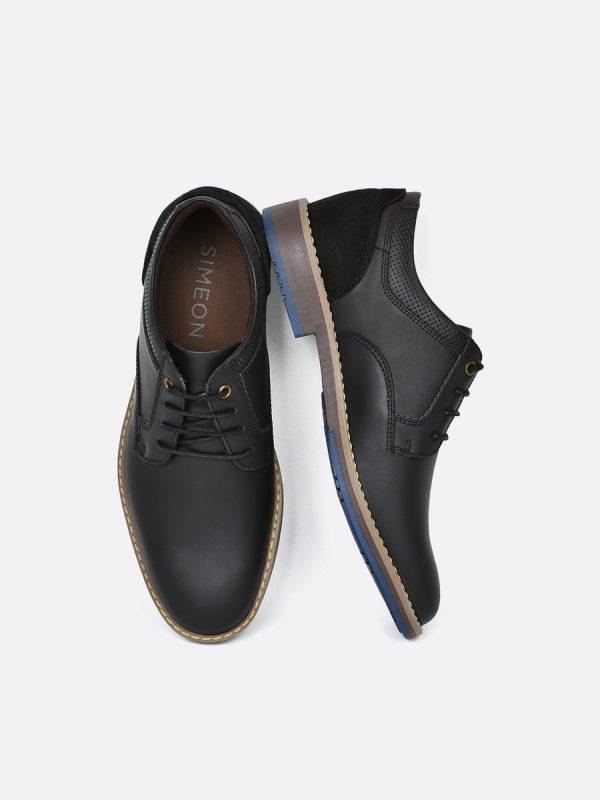 HILDE02, Todos los Zapatos, Zapatos Casuales, Cuero, NEG, Vista Galeria