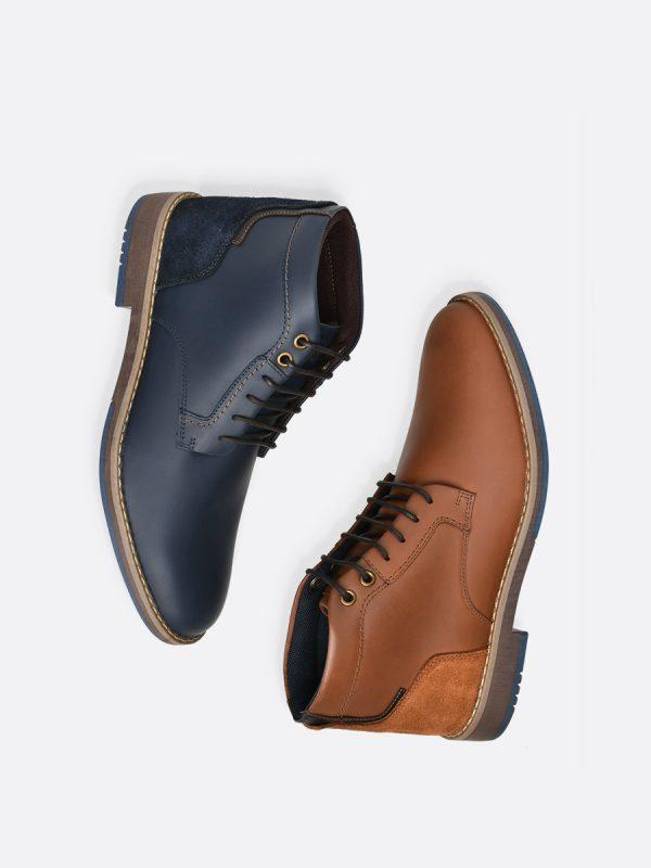 HILDE03,Todos los Zapatos, Zapatos Casuales, Botas Casuales, Cuero, Vista Galeria