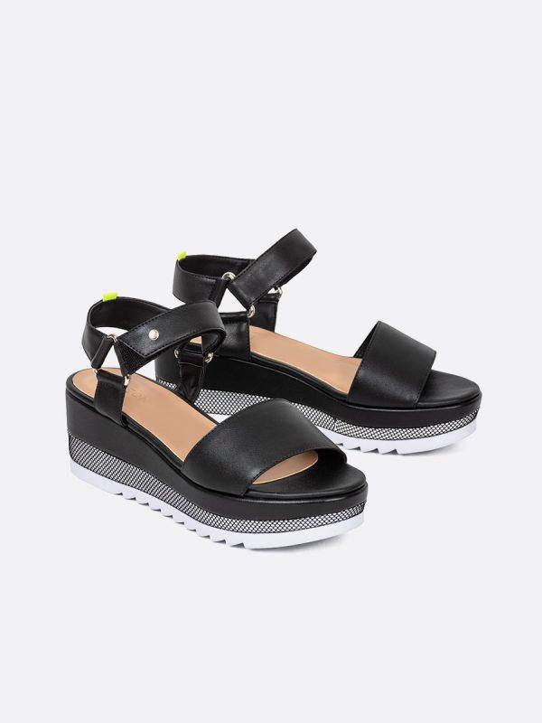LOW, Todos los zapatos, Sandalias Plataformas, Sintético, NEG Vista Galeria