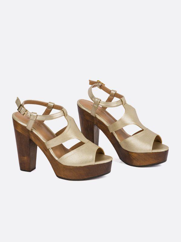 DUSE, Todos los zapatos, Plataformas, Sandalias Plataformas, Sintético, CHA, Vista Galeria