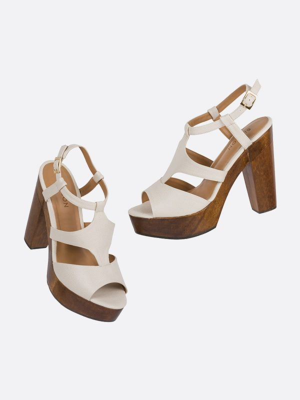 DUSE, Todos los zapatos, Plataformas, Sandalias Plataformas, Sintético, CRE, Vista Galeria