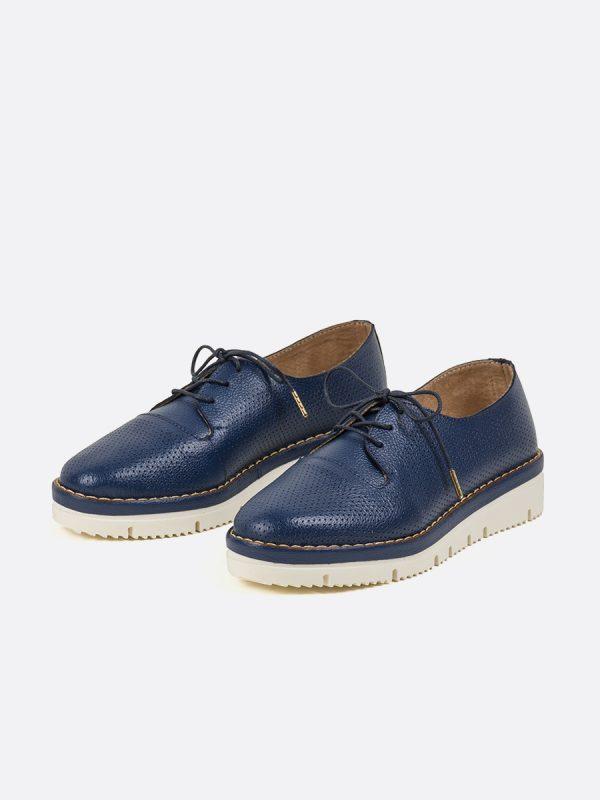 JEY2, Todos los zapatos, zapatos de cordón, sintético, AZU, Vista Galeria