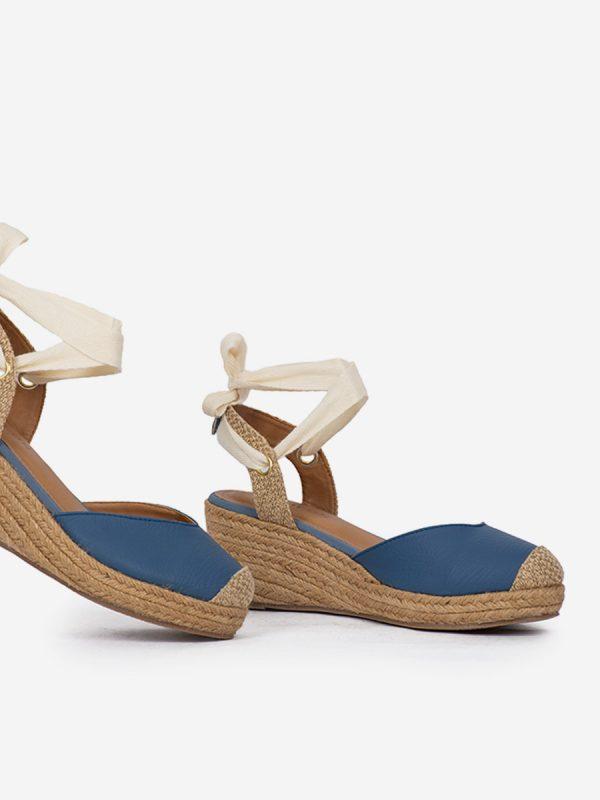 KUTY, Todos los zapatos, Plataformas, Sandalias Plataformas, Sintético, AZU, Vista Galeria