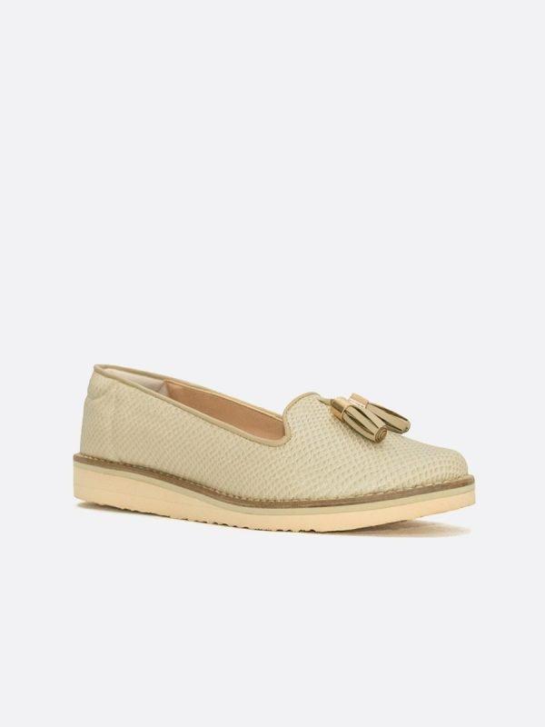 MARTH-MIE, los zapatos, Mocasines, Sintético, Vista Diagonal