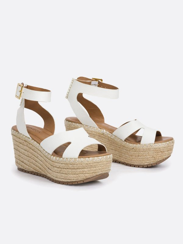 MILK, Todos los zapatos, Plataformas, Sandalias Plataformas, Sintético, BLA, Vista Galeria