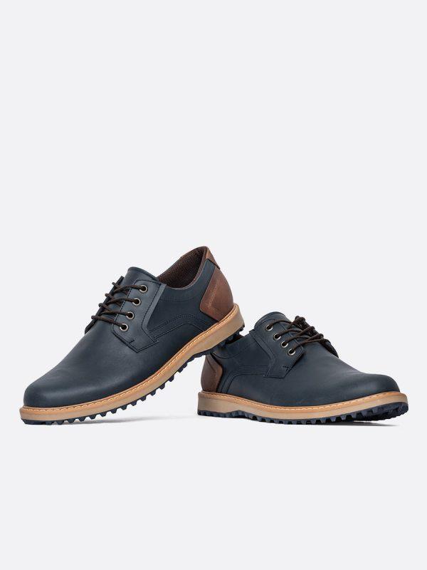 RAMON01,Todos los Zapatos, Zapatos Casuales, Casuales, Cuero, AZU, Vista Galeria