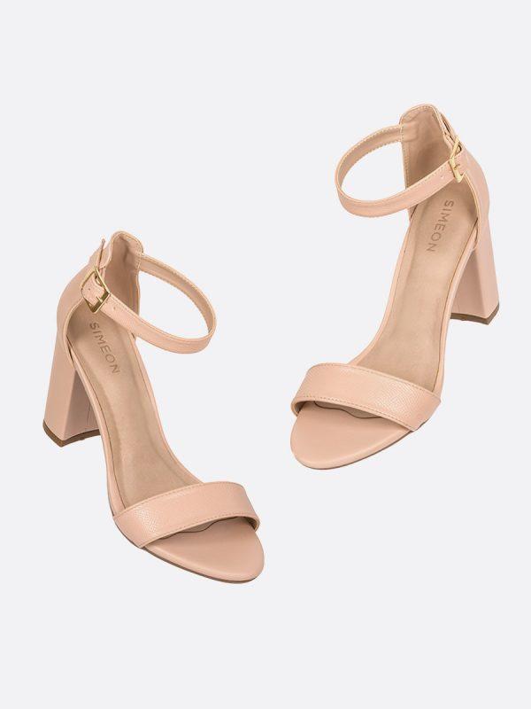 SAMY2, Todos los zapatos, Sandalias, Sandalias de Tacón, Sintético, NUD, Vista Galeria