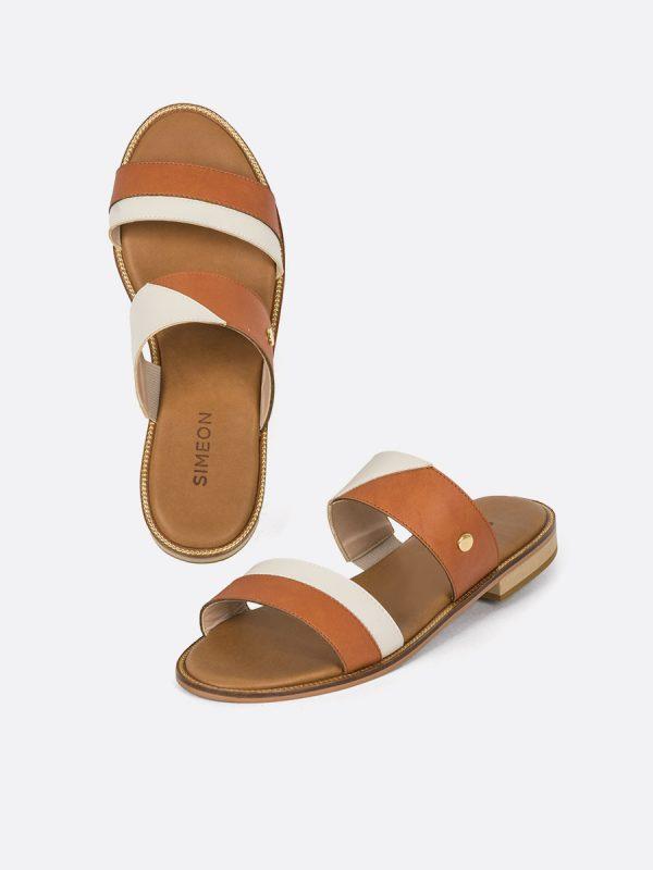 SLIDE, Todos los zapatos, Sandalias Planas, Sintético, MIE, Vista Galeria